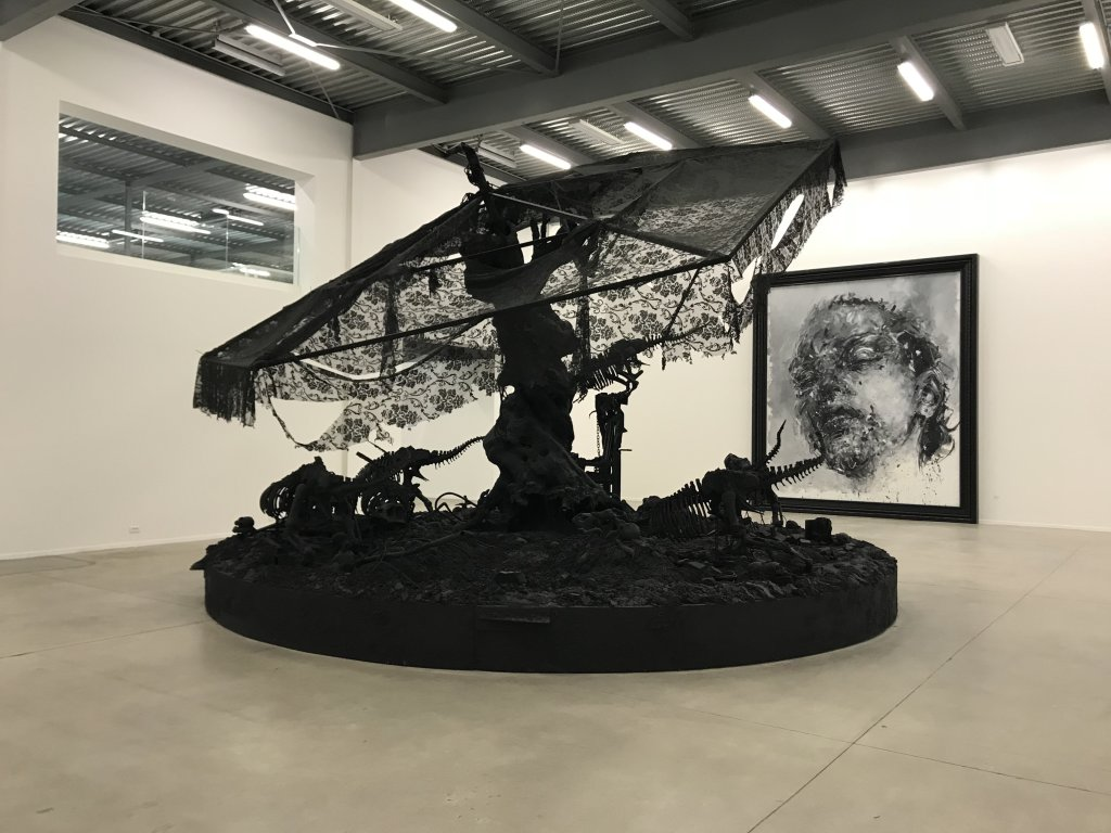 Vue de l'exposition Philippe Pasqua, Versus - The Storage (30)