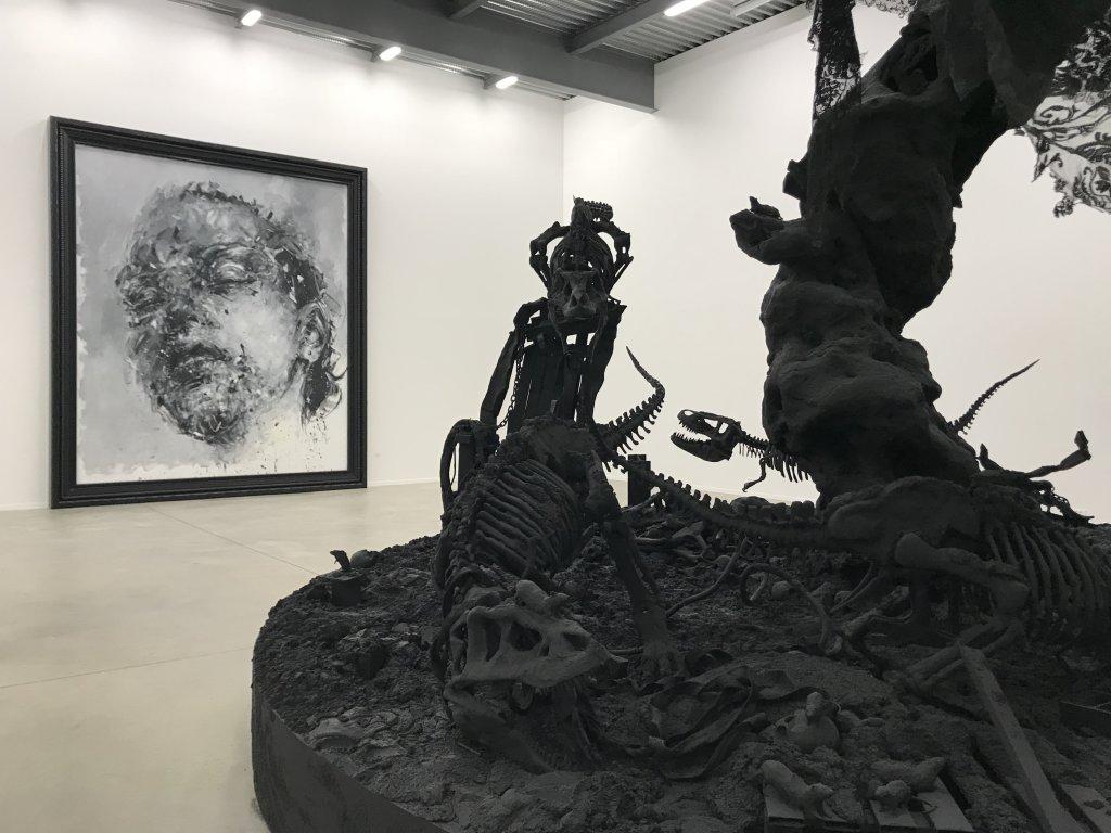 Vue de l'exposition Philippe Pasqua, Versus - The Storage (31)