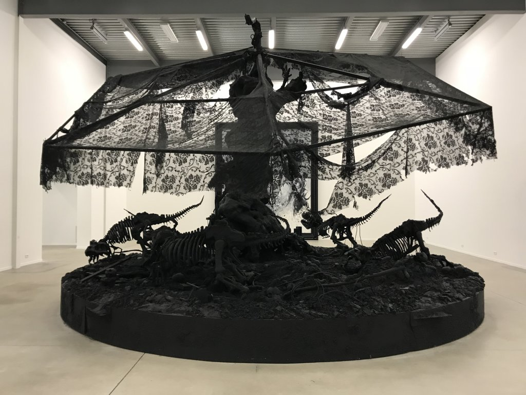 Vue de l'exposition Philippe Pasqua, Versus - The Storage (33)