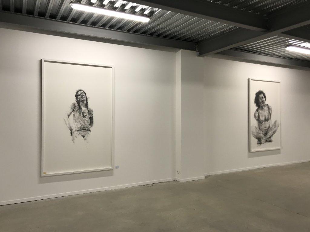 Vue de l'exposition Philippe Pasqua, Versus - The Storage (6)