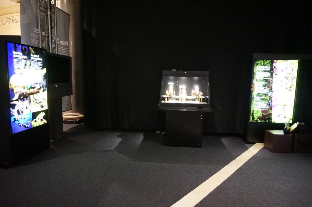 Vue de l'exposition Poison au Palais de la Découverte (22)