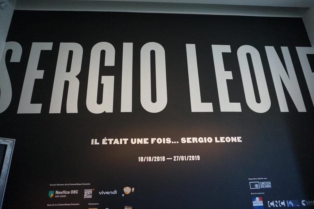 Vue de l'exposition Sergio Leone à la Cinémathèque (1)