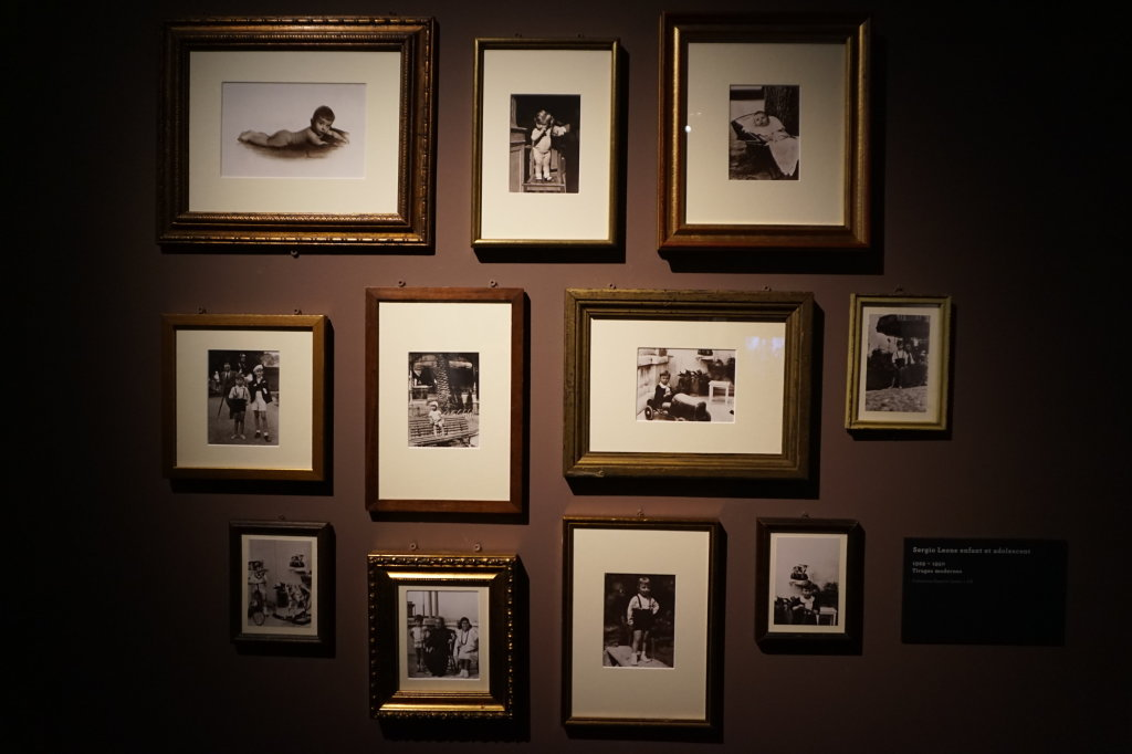 Vue de l'exposition Sergio Leone à la Cinémathèque (2)