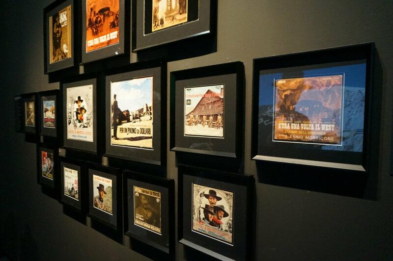 Vue de l'exposition Sergio Leone à la Cinémathèque (29)