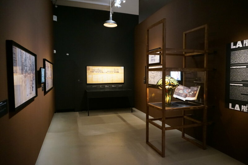 Vue de l'exposition Sergio Leone à la Cinémathèque (30)