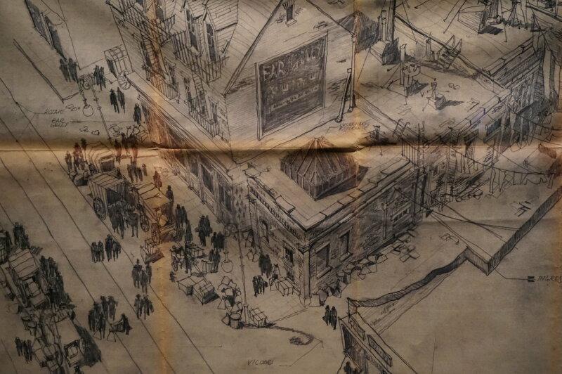 Vue de l'exposition Sergio Leone à la Cinémathèque (31)
