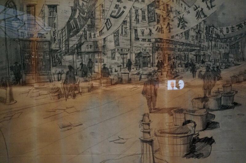 Vue de l'exposition Sergio Leone à la Cinémathèque (34)