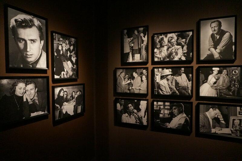 Vue de l'exposition Sergio Leone à la Cinémathèque (4)