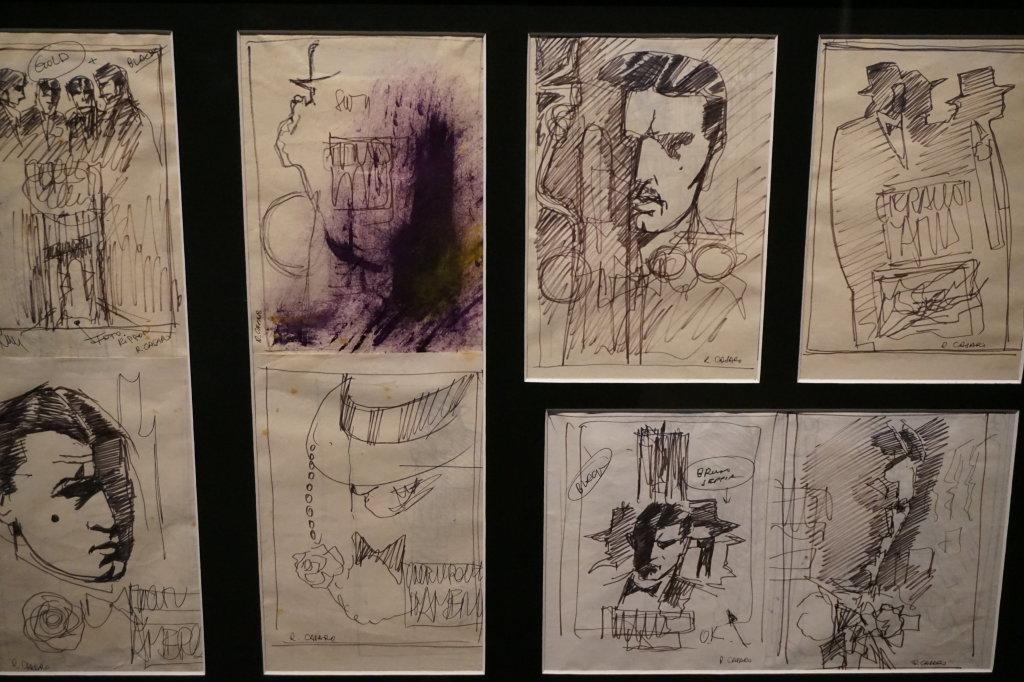 Vue de l'exposition Sergio Leone à la Cinémathèque (40)