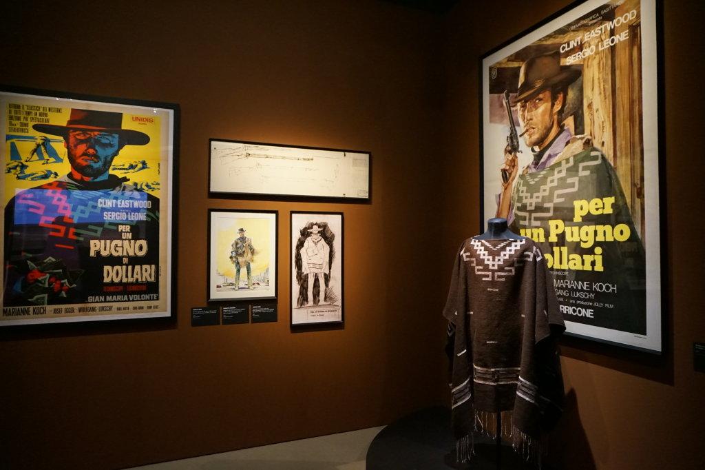 Vue de l'exposition Sergio Leone à la Cinémathèque (41)