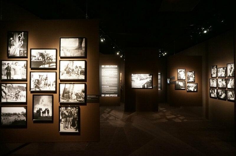 Vue de l'exposition Sergio Leone à la Cinémathèque (44)