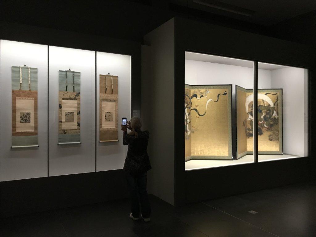Vue de l'exposition Trésors de Kyoto - Musée Cernuschi (57)