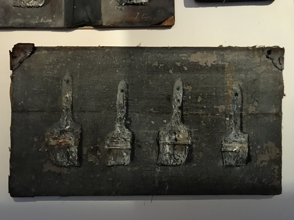 Vue de l'exposition Yuri Kuper à la Galerie Minsky (39)
