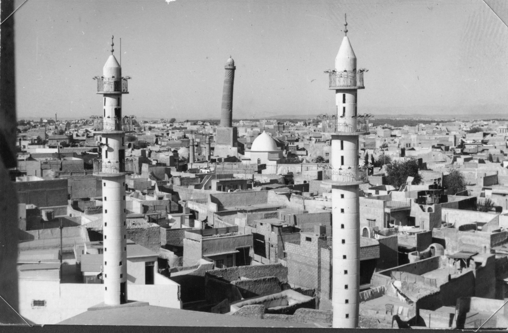 Vue de Mossoul ouest depuis Notre-Dame de l'Heure, Irak
