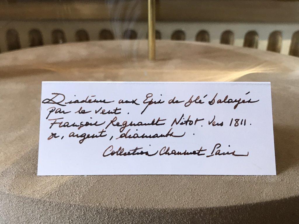 Vue des Journées particulières LVMH - Maison Chaumet