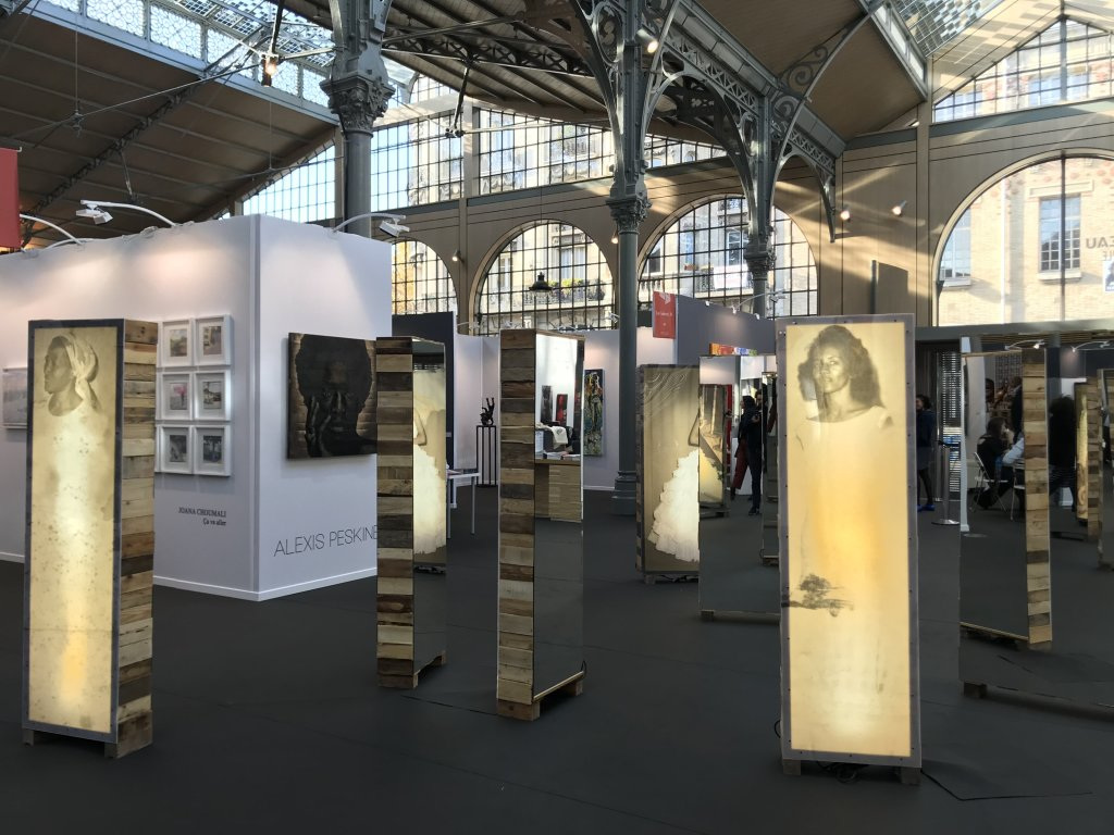 Vue du salon AKAA, Also Known as Africa 2018 - Carreau du Temple (62)