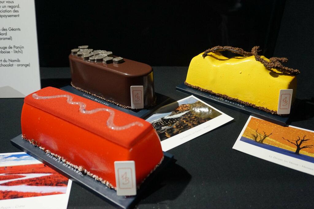 Vue du Salon du Chocolat, Paris 2018 - Bûches (10)