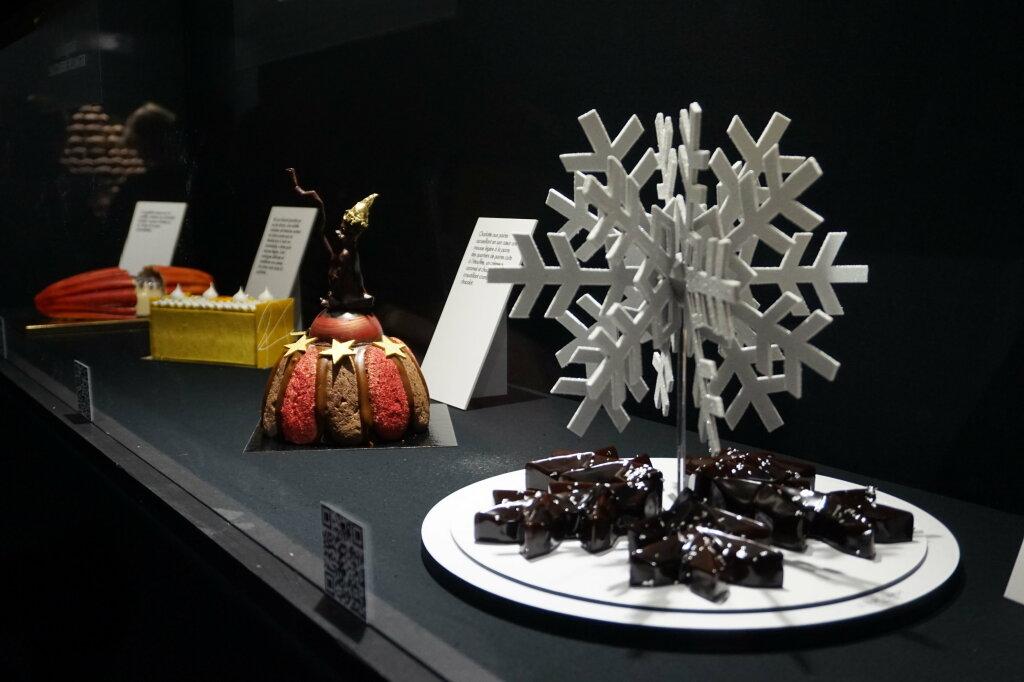 Vue du Salon du Chocolat, Paris 2018 - Bûches (11)