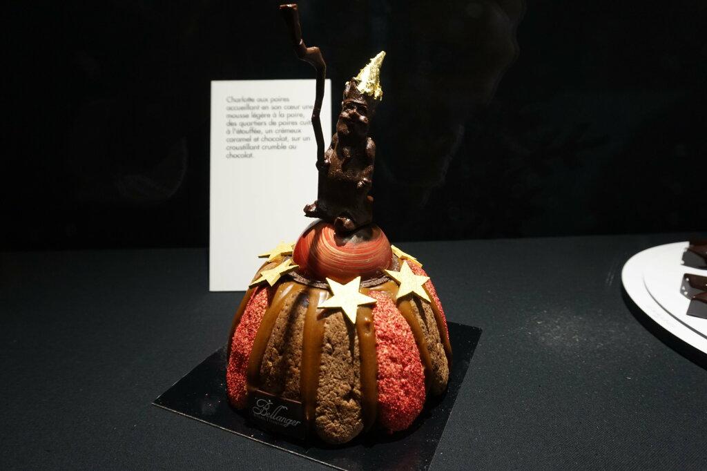 Vue du Salon du Chocolat, Paris 2018 - Bûches (13)