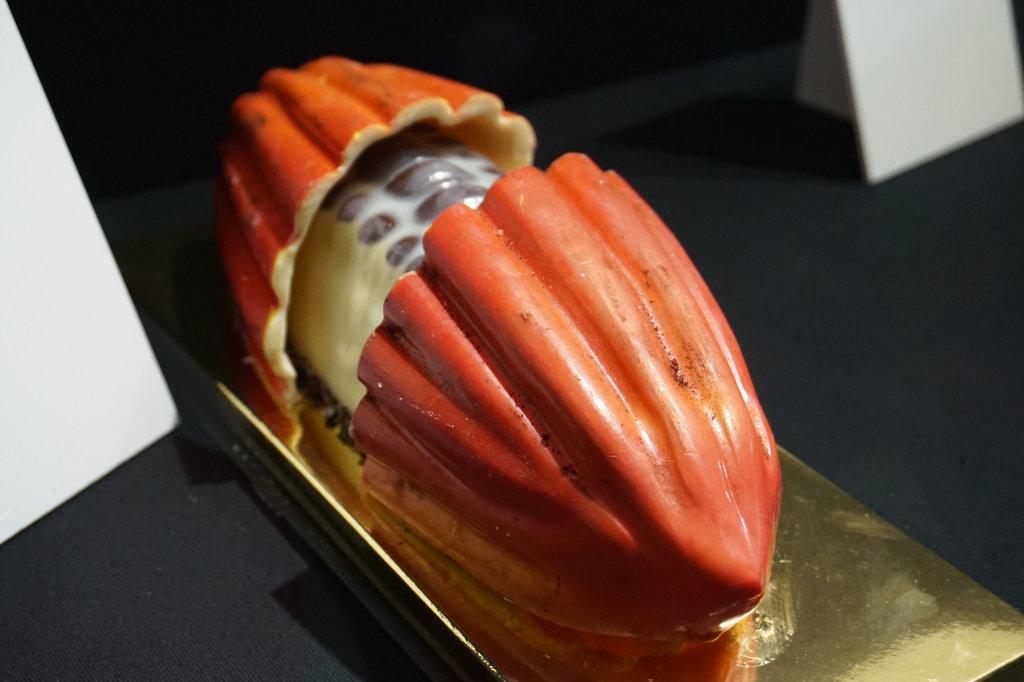Vue du Salon du Chocolat, Paris 2018 - Bûches (14)