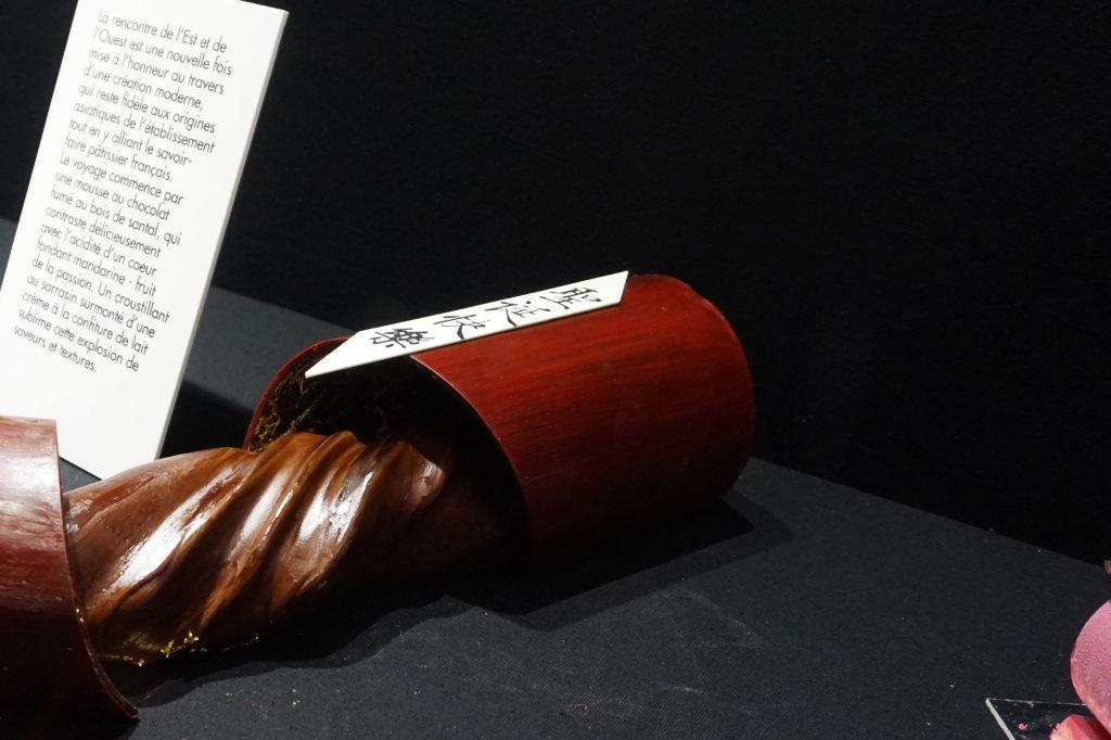 Vue du Salon du Chocolat, Paris 2018 - Bûches (17)