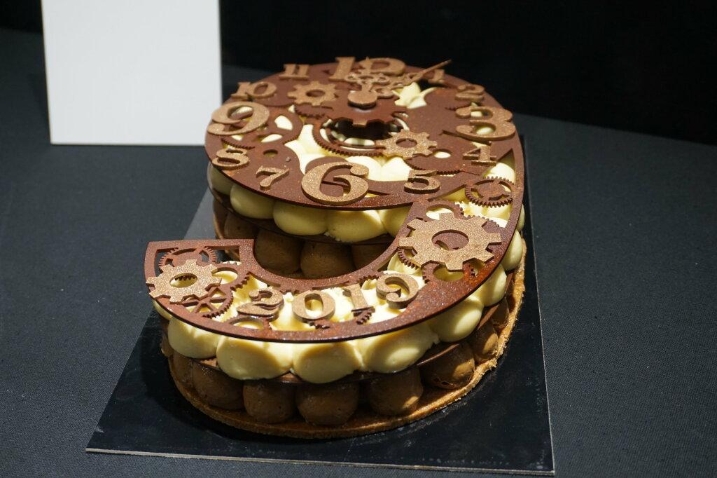 Vue du Salon du Chocolat, Paris 2018 - Bûches (18)