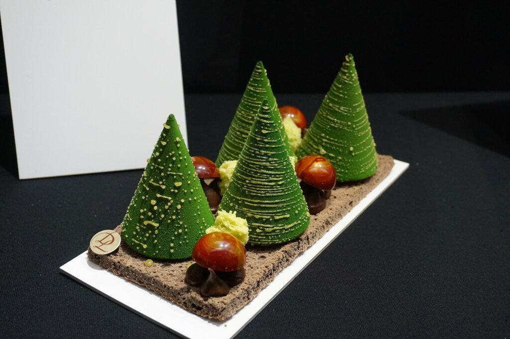 Vue du Salon du Chocolat, Paris 2018 - Bûches (6)
