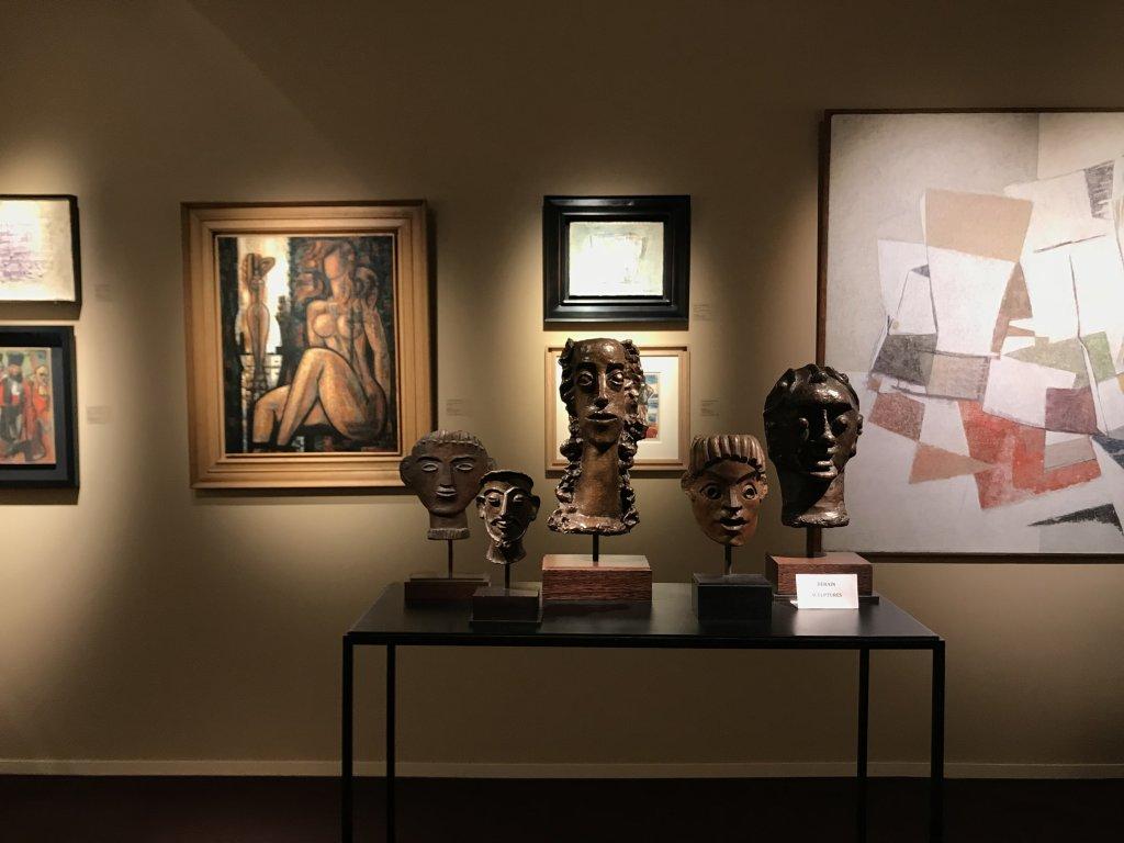 Vue du salon Fine Arts 2018 - Carrousel du Louvre (10)