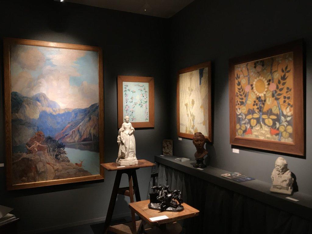 Vue du salon Fine Arts 2018 - Carrousel du Louvre (100)