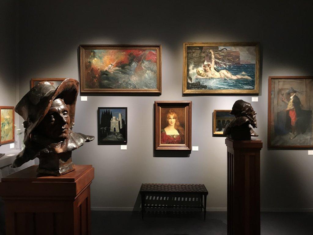 Vue du salon Fine Arts 2018 - Carrousel du Louvre (114)