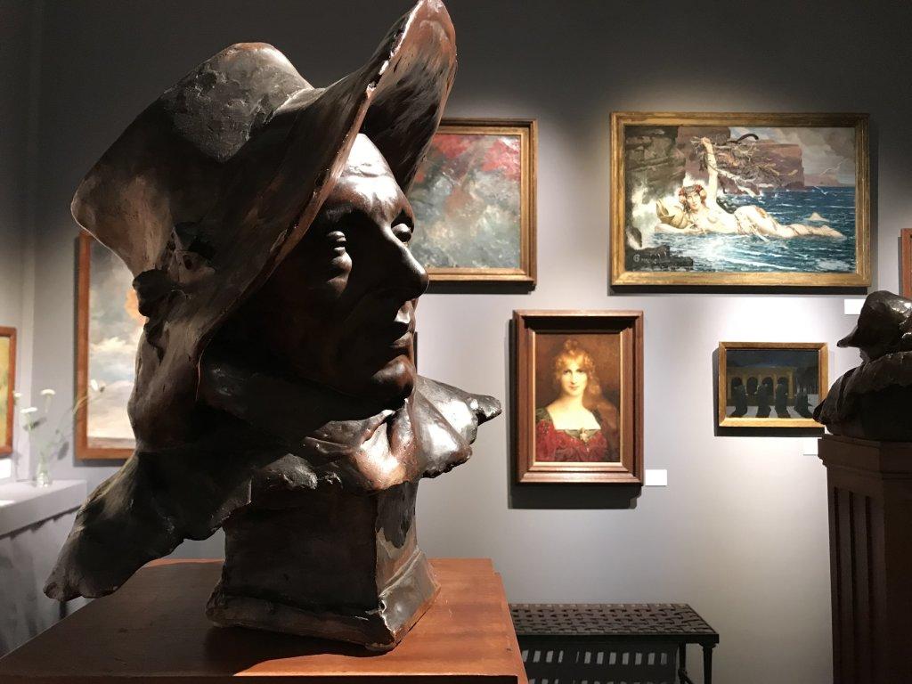 Vue du salon Fine Arts 2018 - Carrousel du Louvre (117)