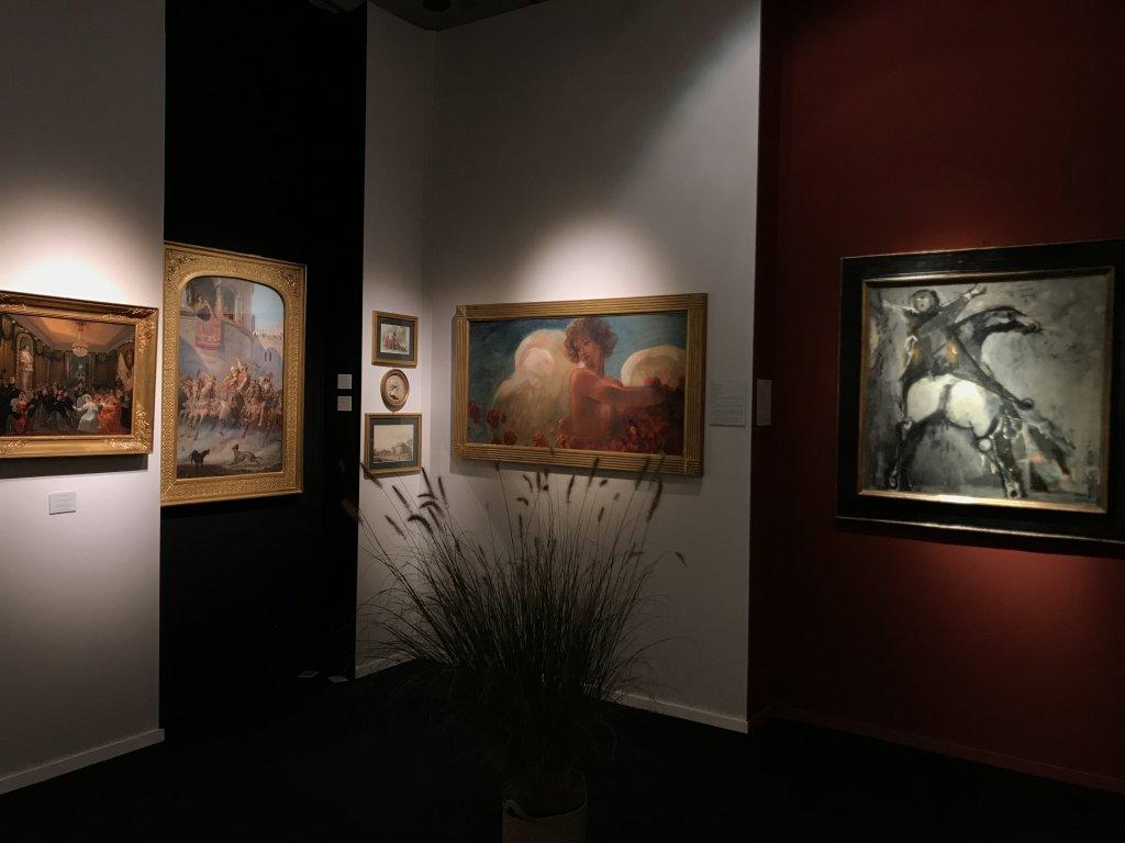 Vue du salon Fine Arts 2018 - Carrousel du Louvre (35)