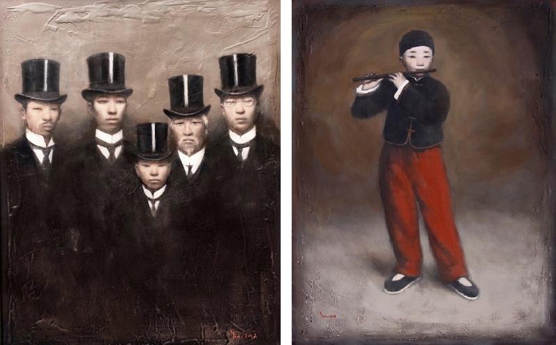 Yin Xin, Gentlemena, 2017