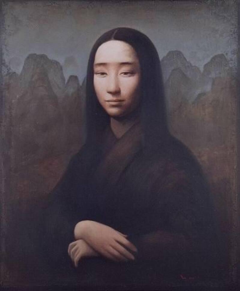 Yin Xin, Mona Lisa, d'après Léonardo da Vinci