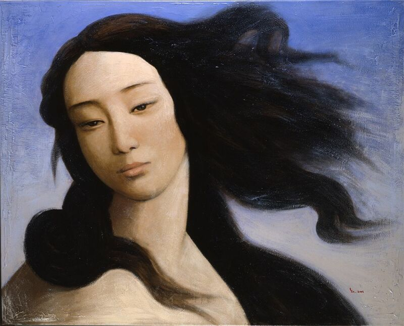 Yin Xin, Venus, After Botticelli, 2008