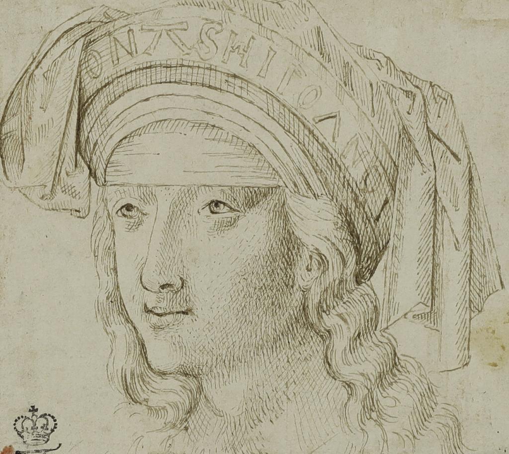 Artiste anonyme du Haut-RhinTête de Sibylle, fin du XVe siècle
