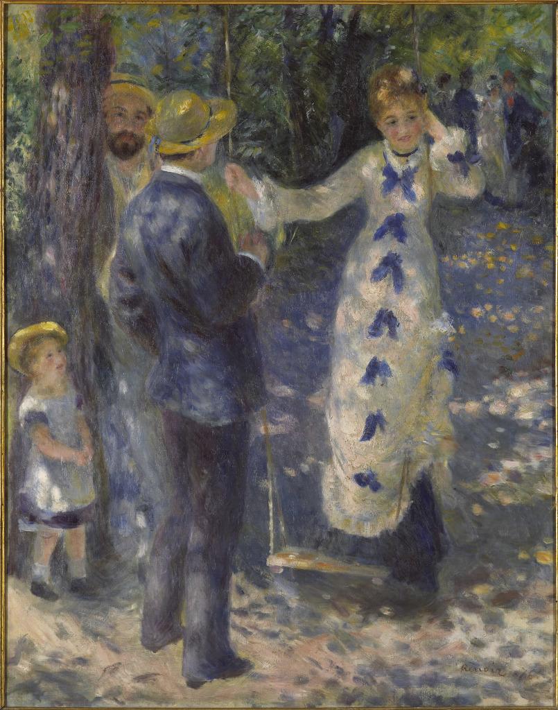 Pierre-Auguste Renoir, La Balançoire, 1876