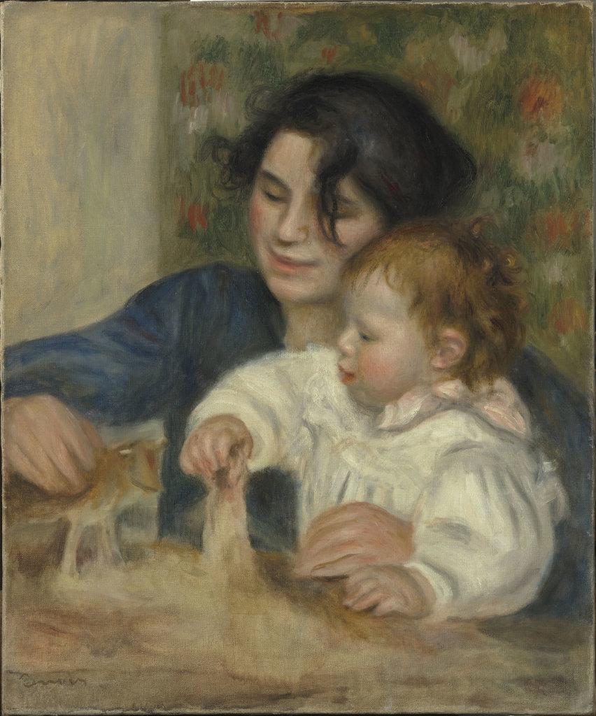 Pierre-Auguste Renoir, Gabrielle et Jean, 1915