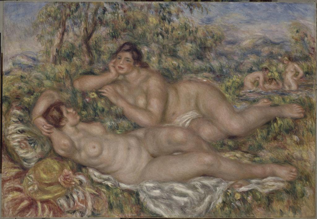 Pierre-Auguste Renoir, Les Baigneuses, 1918