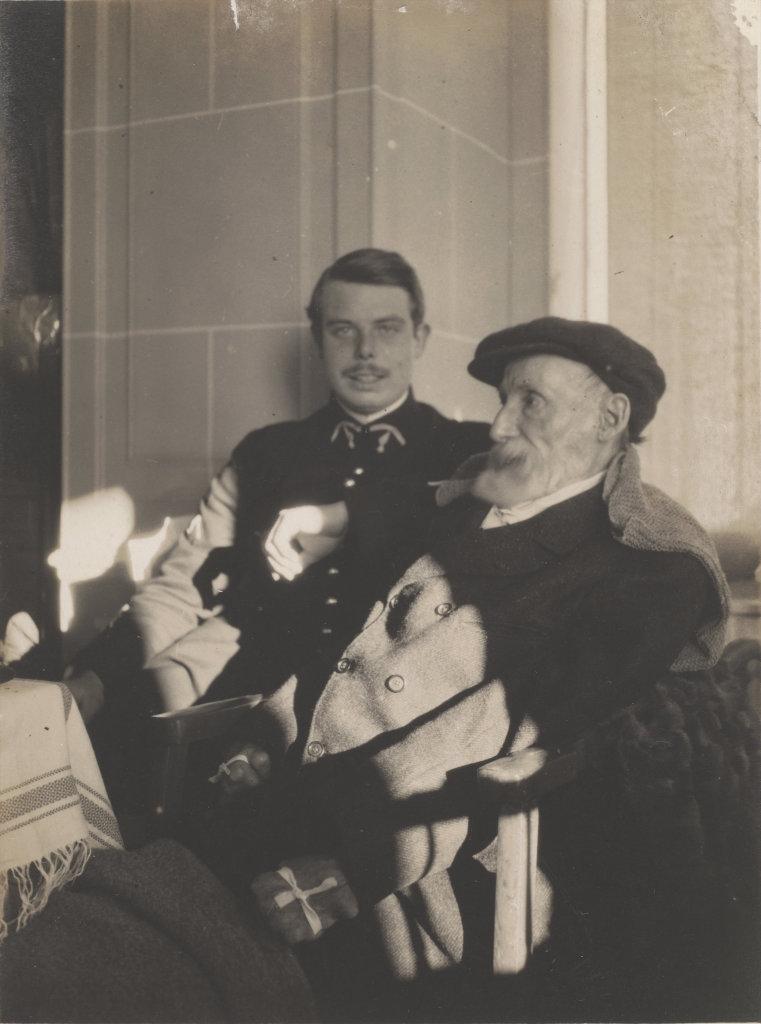 Pierre Bonnard, Auguste et Jean Renoir, 1916