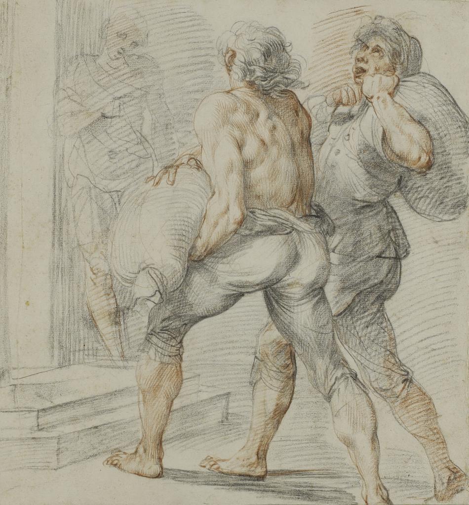 Giuseppe Cesari, Étude pour les collecteurs d'impôts, 1591-1593