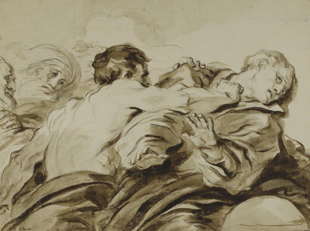 Jean-Honoré Fragonard, L'Attaque, fin des années 1770
