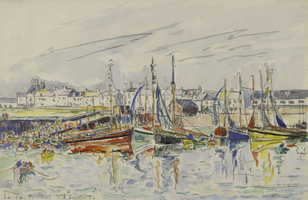 Paul Signac, La Turballe, 1930