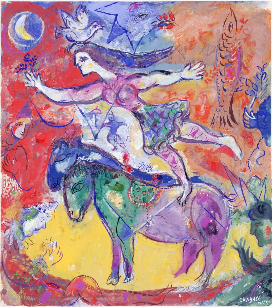 Marc Chagall, Le cirque, 1961