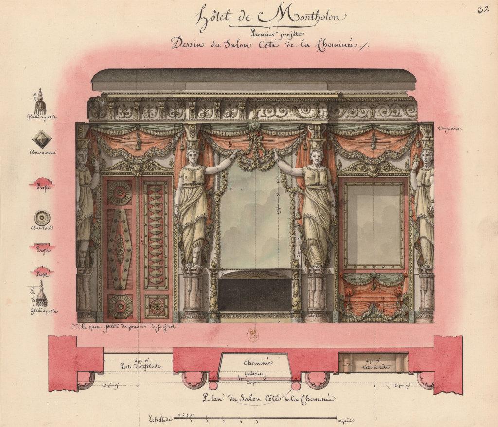 Lequeu, Hôtel Montholon