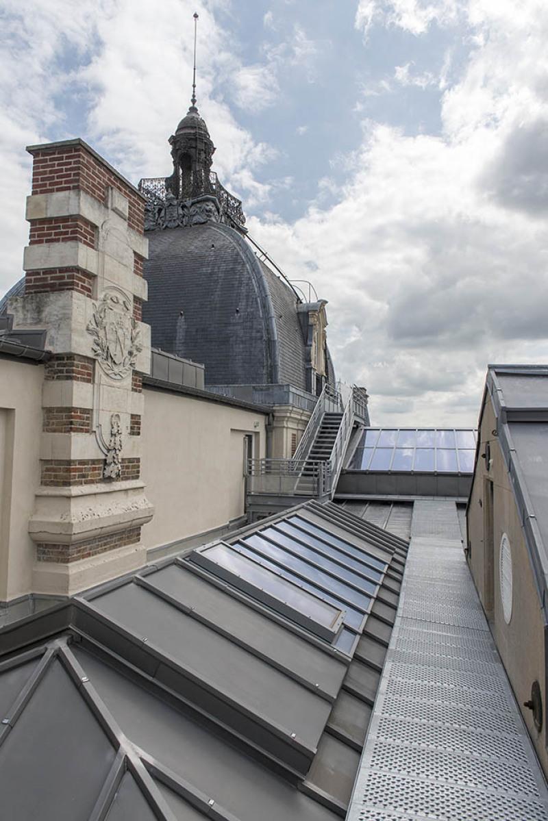 Le Musée de Picardie en  travaux d'extension et de rénovation. Mai 2018, Amiens