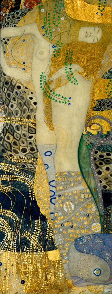 Gustav Klimt, Serpents aquatiques