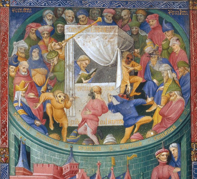 Térence dit de Martin Gouge, En scène, 1407