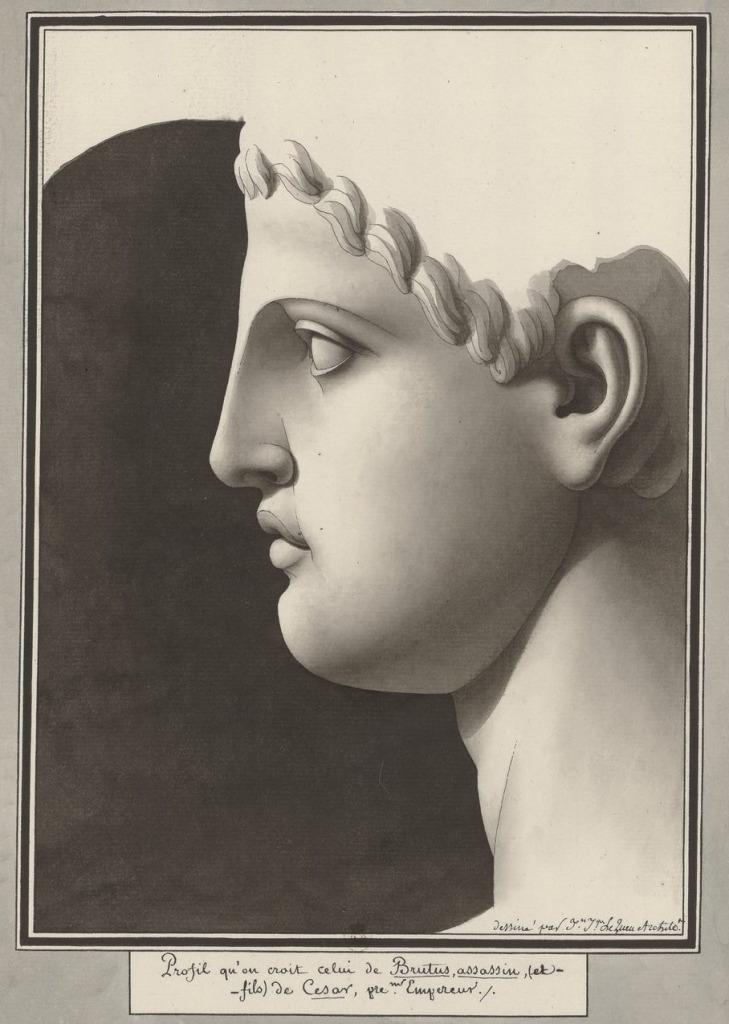Lequeu, Brutus assassin en fils de César