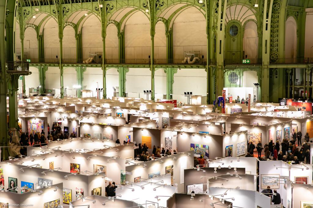 Art Capital - Vernissage 2019 - Salon des Artistes Français, Grand Palais, Paris © Imageaste-David Lebrun (13)